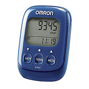 Omron HJ325 Walking Style IV Step Counter Tracker Pedometer With 3D Sensor - Blue