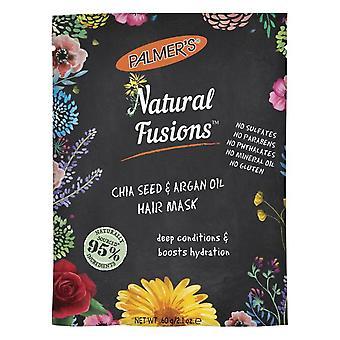 Palmer's Infusões Naturais Chia Semente & Argan Oil Hair Mask Sachet 60g