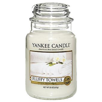 Yankee Candle Large Jar Candle Fluffy Towels