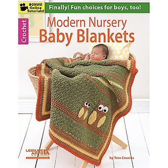 Leisure Arts-Modern Nursery Baby Blankets