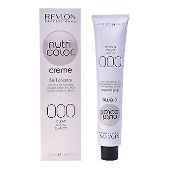 Permanent Dye Nutri Color Revlon N 000 (100 ml)