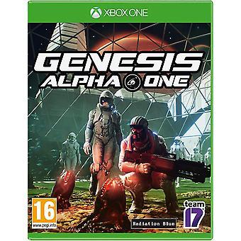 Jeu de Genesis Alpha One Xbox One