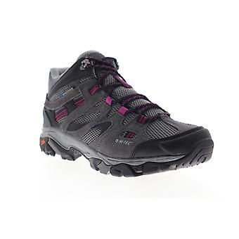 Hi-Tec Ravus Vent Mid Waterproof  Womens Gray Mesh Lace Up Hiker Boots