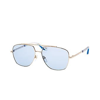 Sunglasses Men's pilot gold/blue normal