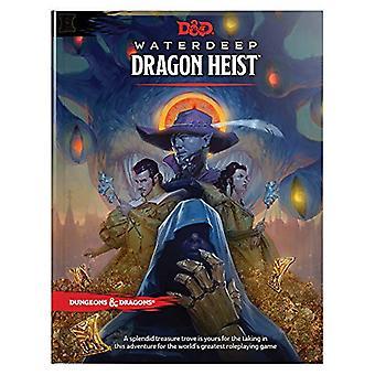 D&d Waterdeep Dragon Heist Hc by Wizards RPG Team - 9780786966257