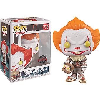It Chapter 2 Pennywise com Beaver Hat US Excl Pop! Vinil
