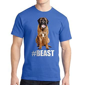 Sandlot #Beast Dog Men's Royal Blue T-shirt