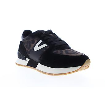 Tretorn Loyola 9  Womens Black Suede Low Top Lifestyle Sneakers Shoes