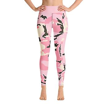 Workout Leggings | Yoga Leggings | Tarnung | Rosa Tarnung