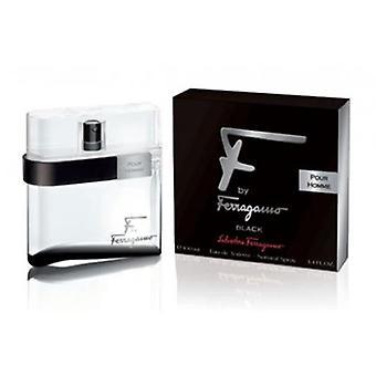 """Salvator Ferragamo - """"F"""" Black Pour Homme - Eau De Toilette - 100ML"""