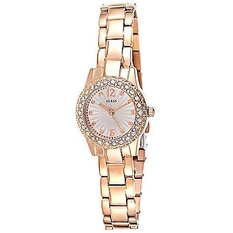 Guess W0889L3 Lady Stainless Steel and Crystals Rose Gold Ladies Watch