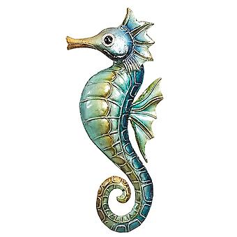 Montego Bay Blue Seahorse Christmas Holiday Ornament