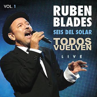 Todos Vuelven Live Vol. 1 [CD] USA import
