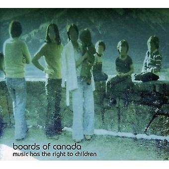 Boards of Canada - Music Has the Right to Children [CD] USA import