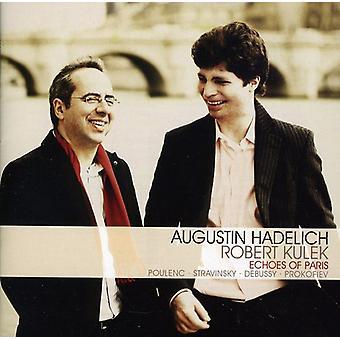 Augustin Hadelich & Kulek - Echoes of Paris [CD] USA import