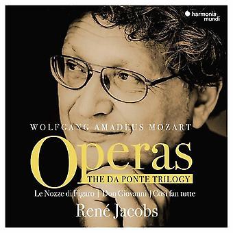 Mozart / Jacobs, Rene - Da Ponte Trilogy [CD] USA import