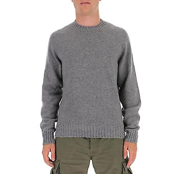 Tom Ford Bvg50tfk310k05 Men's Grey Wool Sweater