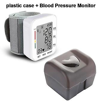 Digital Wrist Blood Pressure Monitor - Pulse Rate Heart Beat Rate Meter Device Medical Equipment