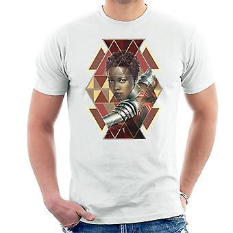 Bewundern Sie Black Panther Nakia Wakandan Warrior Herren T-Shirt
