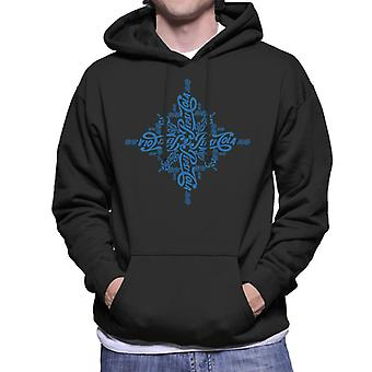 Pepsi Cola Logo Art Men's Hooded Sweatshirt