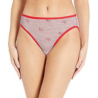 Essentials Women's 6-Pack Cotone High Cut Bikini Biancheria, San Valentino...
