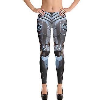 Leggings de moda | fantasia | design robô