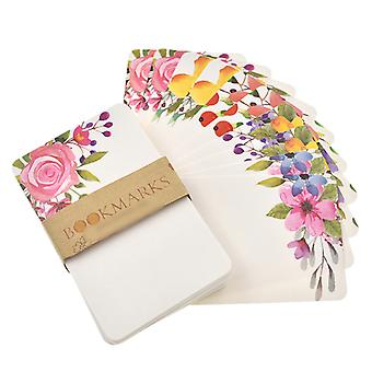 Handmade Flower Message Scrapbook Paper Card - Diy Greeting Cards Postcards Party Wedding Invitation Cards