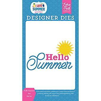 Echo Park Hello Summer Sun overleden