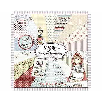 DayKa Trade Cuentos 8x8 Inch Paper Pad