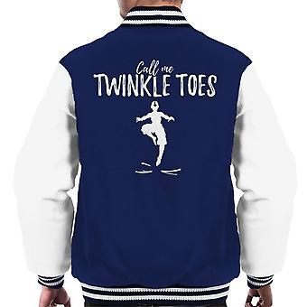 Call Me Twinkle Toes Avatar The Last Airbender Men's Varsity Jacket