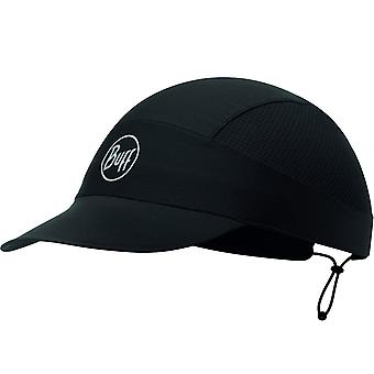 Buff Reflective Solid Adjustable Packable Running Baseball Cap Hat Black - XL