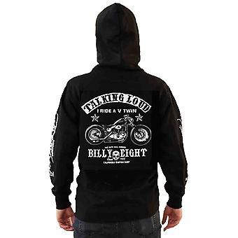 Billy eight - v-twin talking loud - hoodie
