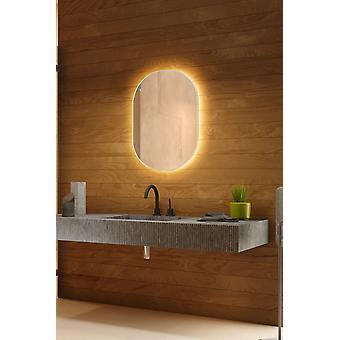 Sprite bakgrunnsbelyst speil med sensor, demister og barbermaskin socket k755BLCW