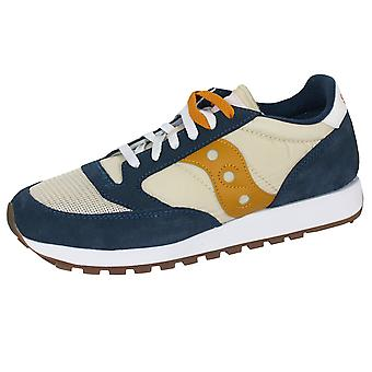Saucony men's denim e curry jazz originali vintage trainer