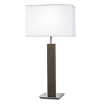 Leds-C4 - 1 lys bordlampe Chrome, E27