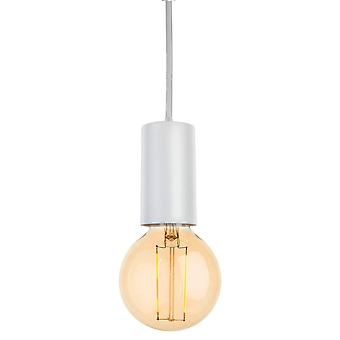Firstlight Berkeley - 1 Lichte Plafond hanger Wit, E27