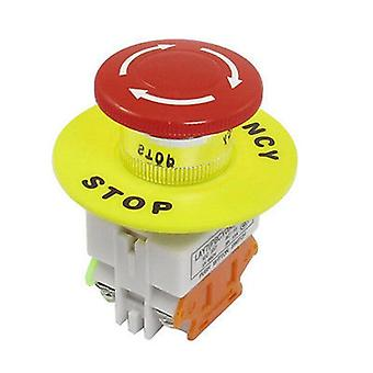 Emergency  Stop Latching Push Button Switch For Automati Control Electric