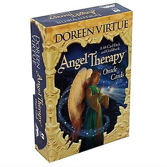 Angel Therapy Oracle Tarot Cards Deck Board Game English Version Tarot For Women Family Party Funny Table Games