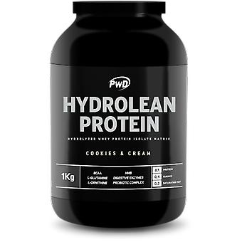 PWD Nutrition Hydrolean Protein Cookies & Cream 1 Kg