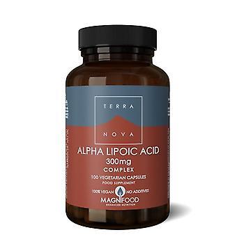 Terranova Alpha-Lipoic Acid 300mg Complex Vegicaps 100 (T4002)
