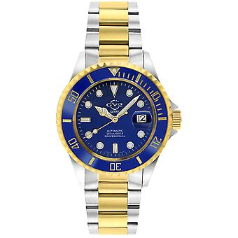Gv2 By Gevril Men's 42253 Liguria Swiss Automatic Ceramic Rotating Bezel Watch