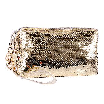 Homemiyn Sequin Makeup Bag Cosmetic Bag