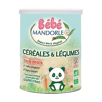 Cereals and vegetables from 6 months BIO 400 g powder