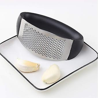 Multifunction Stainless Steel Garlic Press , Grinding Grater,  Crush Tool