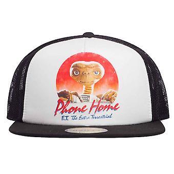 E.T. Baseball Cap E T Phone Home retro Movie Logo nieuwe officiële Unisex Trucker