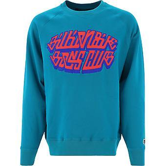 Billionaire B20353lakeblue Men's Petrol Cotton Sweatshirt