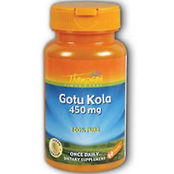 Thompson Gotu Kola, 450 mg, 60 Caps