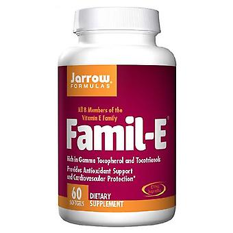 Jarrow Formulas Famil E, 60 Softgels