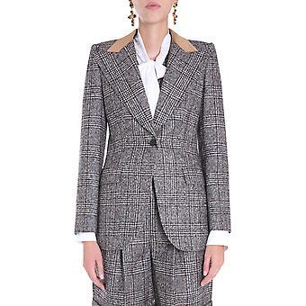 Dolce E Gabbana F29gztfqmibs8100 Damen's Graue Wolle Blazer