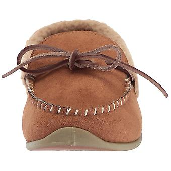 Deer Stags Mens Campfire Faux Fur Closed Toe Slip On Slippers